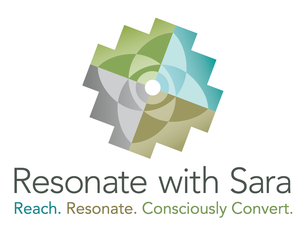Resonate with Sara logo